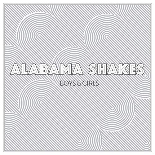 "Cover des Albums ""Boys & Girls"" der US-Band Alabama Shakes"