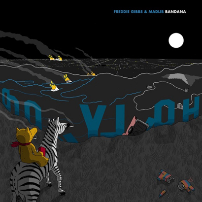 """Cover des Albums """"Bandana"""" der US-Musiker Freddie Gibbs und Madlib"""