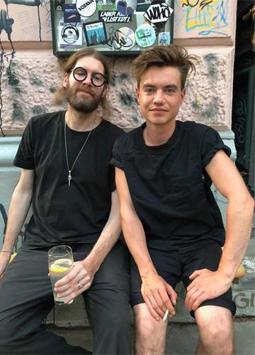 Foto von Sascha Hohn und Ludwig Mausberg