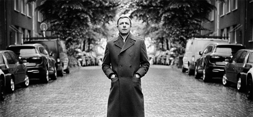Pressefoto des Hamburger Autors, Musikers und Schauspieler Rocko Schamoni