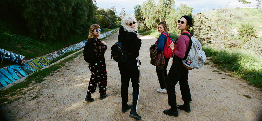Pressebild der Band Chastity Belt