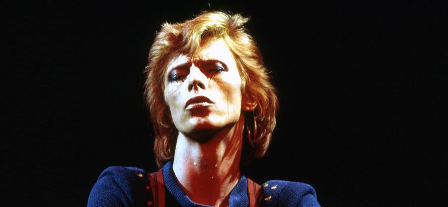 Foto des Musikers David Bowie