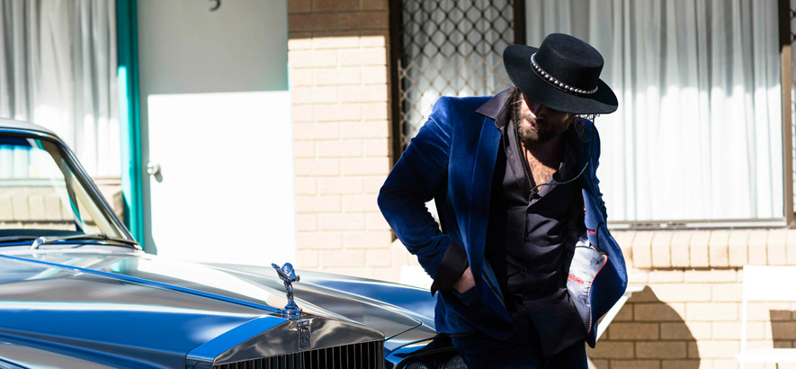 Foto des australischen Musikers Angus Stone alias Dope Lemon
