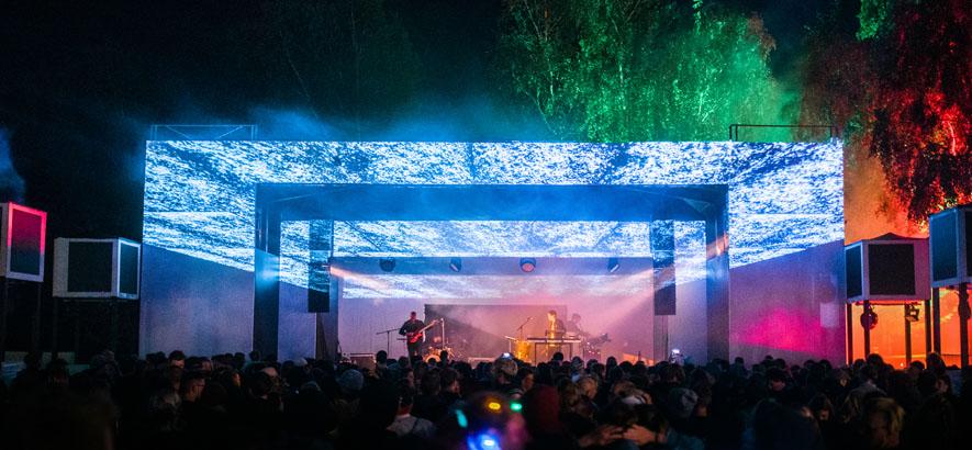 Foto vom Gelände des Fuchsbau Festivals in Lehrte bei Hannover