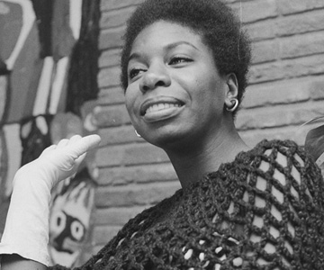 "Nina Simone – ""Here Comes The Sun"""