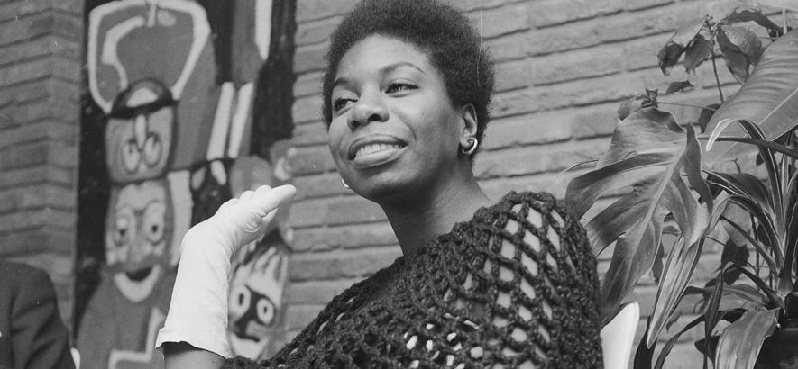 Foto der Musikerin Nina Simone
