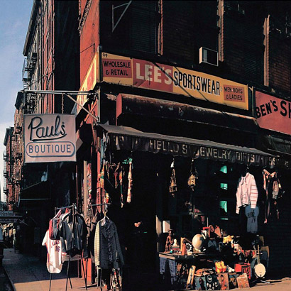 "Cover des Albums ""Paul's Boutique"" von Beastie Boys"