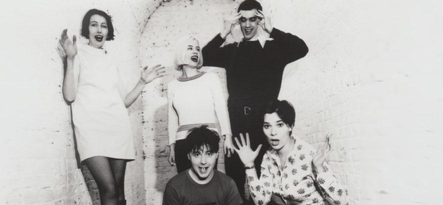 Foto der britischen Band Stereolab