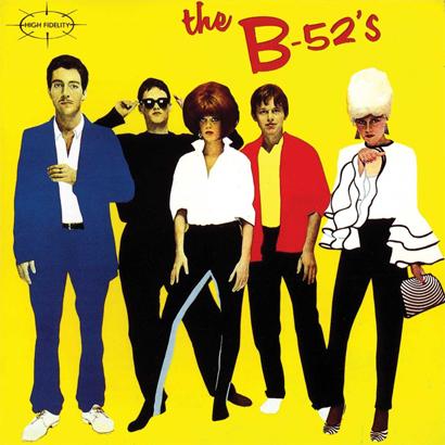 Cover des selbstbetitelten Debütalbums von The B-52