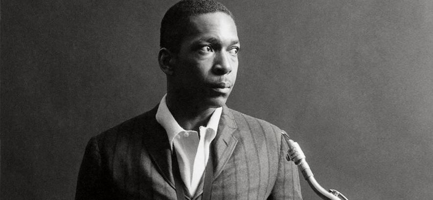 """Jazz-Saxofonist John Coltrane. """"Blue World"""" ist sein verlorenes Album von 1964, dessen Titelstück unser Track des Tages ist."""