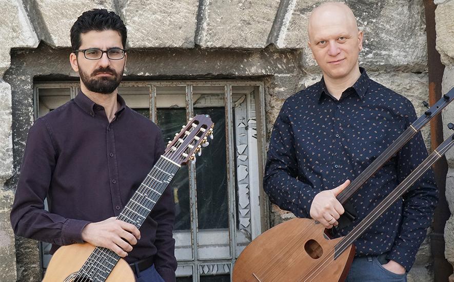 Die Musiker Tolgahan Çoğulu und Sinan Ayyıldız