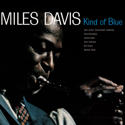 "Cover des Albums ""Kind Of Blue"" von Miles Davis"
