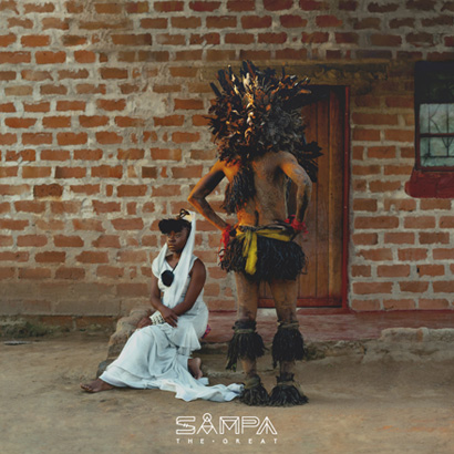 "Cover des Albums ""The Return"" von Sampa The Great"