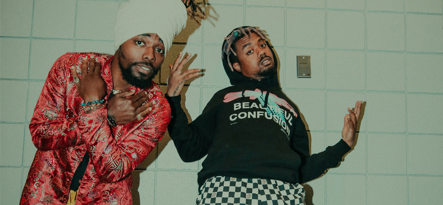 """HipHop-Duo Earthgang, dessen Song """"Up"""" heute unser Track des Tages ist"""