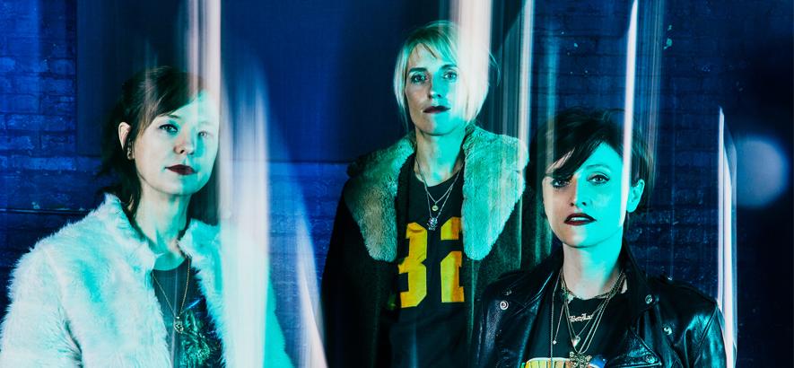 """Die US-Band Ex Hex aus Washington. Ihre Single """"It"""