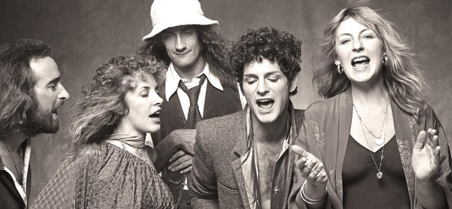 "Die Band Fleetwood Mac. Ihr Song ""Go Your Own Way"" ist heute unser Track des Tages."