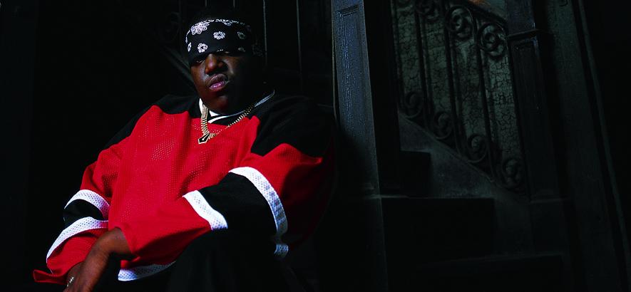 Der US-amerikanische Rapper The Notorious B.I.G.