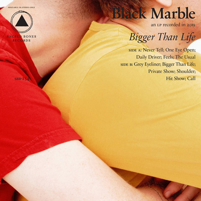 "Cover des Albums ""Bigger Than Life"" von Black Marble"