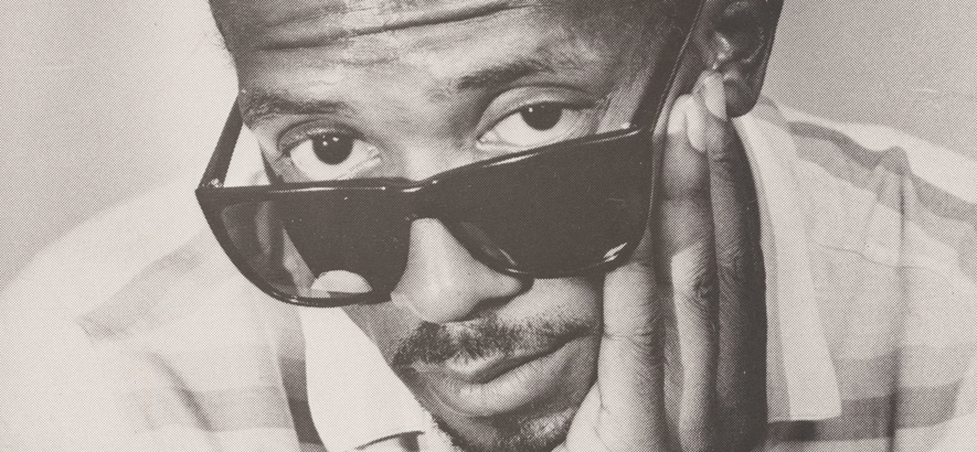 "Foto des Rap-Pioniers Jimmy Spicer, dessen Song ""Adventures Of Super Rhyme (Rap)"" unser Track des Tages ist"
