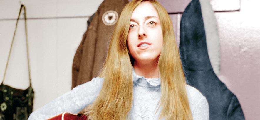 """Die Sängerin Judee Sill. 1971 schrieb sie """"Jesus Was A Cross Maker""""."""