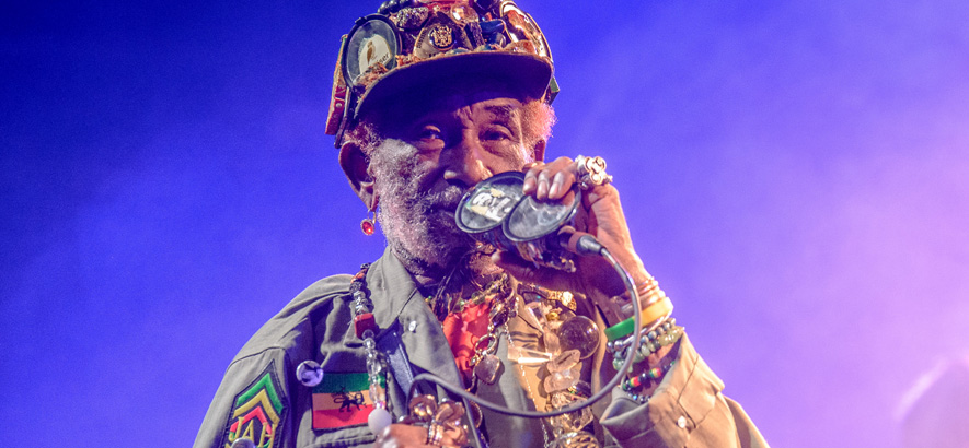 "Foto des Musikers Lee ""Scratch"" Perry"