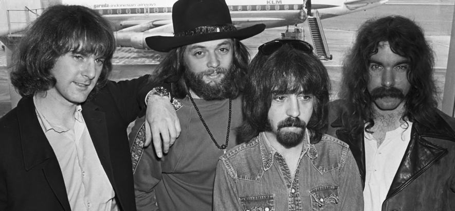 """Bandfoto von The Byrds, deren Album """"Ballad Of Easy Rider"""" heute vor 50 Jahren erschienen ist."""