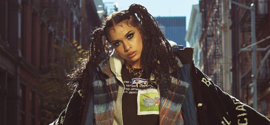 Foto der US-amerikanischen Rapperin Princess Nokia