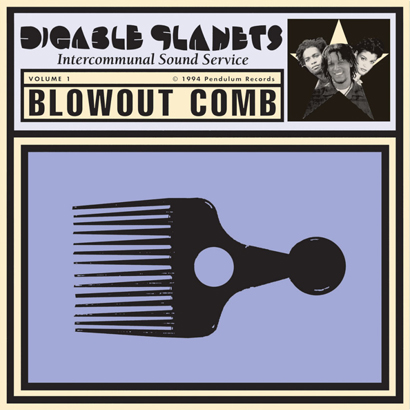 "Cover des Albums ""Blowout Comb"" von Digable Planets"