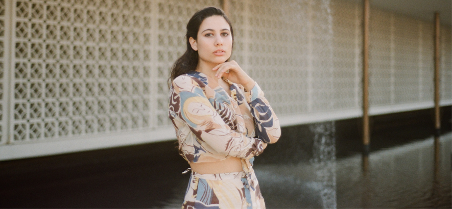 """Die Sängerin Eliza Bagg alias Lisel, deren Stück """"Mirage"""" heute unser Track des Tages ist."""