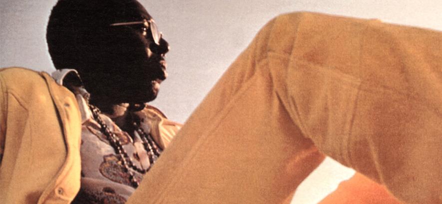"""Der Sänger Curtis Mayfield, der heute vor 20 Jahren gestorben ist. Der 1970er Song """"Move On Up"""" ist eines der ersten Lieder, in denen Mayfield sein unverwechselbares Falsett solo zur Geltung bringt."""