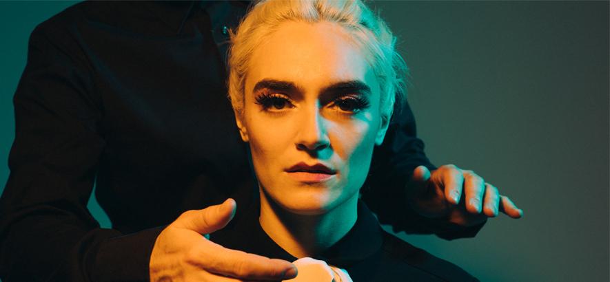 """Christina Schneider alias Locate S, 1. Ihr Song """"Personalia"""" ist Selbstbehauptungs-Disco und heute unser Track des Tages."""