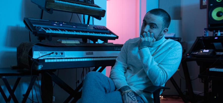 Pressefoto von Mac Miller, von dem am 17. Januar 2020 ein posthumes Album erscheint