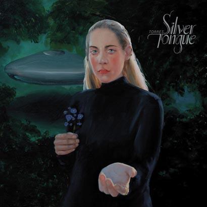 "Cover des Albums ""Silver Tongue"" von Torres"