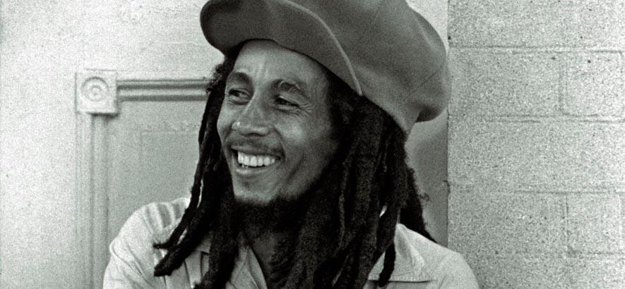 Der Musiker Bob Marley. Der Reggae-Superstar wäre am 6. Februar 2020 75 Jahre alt geworden.