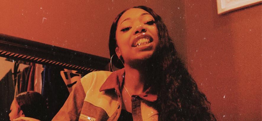 """Deetranada, Rapperin aus Baltimore, deren Tune """"Attitude!"""" heute unser Track des Tages ist. Ihr Name bedeutet soviel wie """"aus dem Nichts erschaffen""""."""