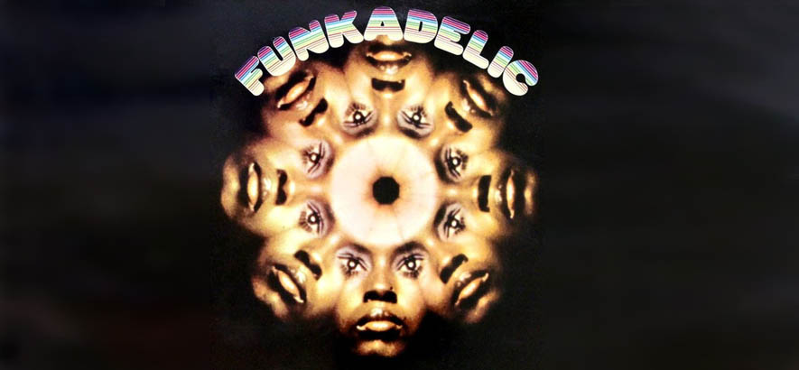 "Cover des debütalbums von Funkadelic. Der Song ""Mommy, What's A Funkadelic?"" ist heute unser Track des Tages."
