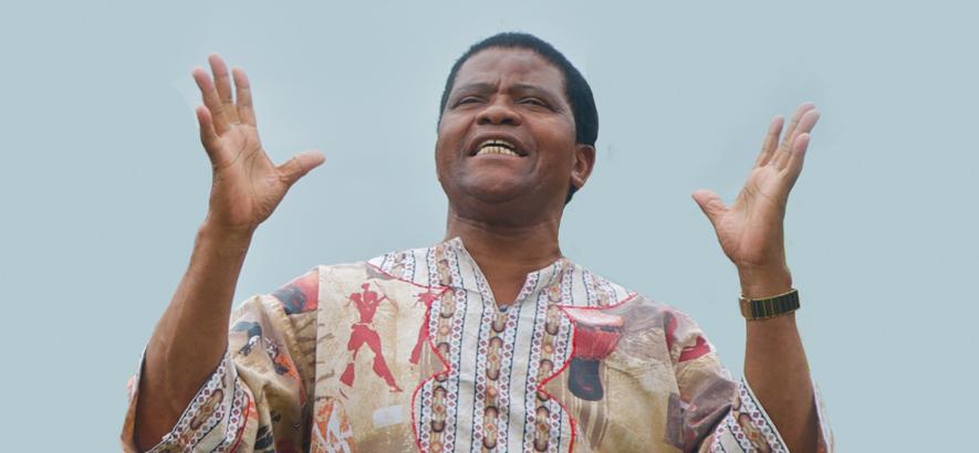 Joseph Shabalala gründete die südafrikanische A-Cappella-Gruppe Ladysmith Black Mambazo. Er starb heute im Alter von 78 Jahren.