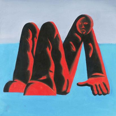 """Cover des Albums """"Man Alive!"""" von King Krule"""