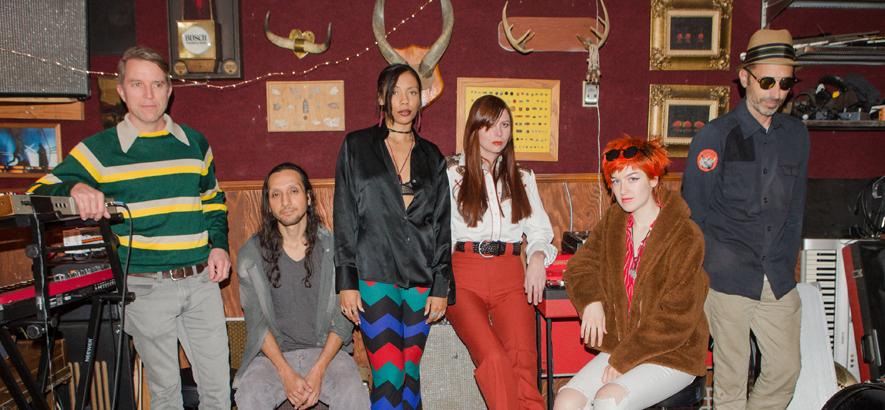 """Die Band Wargirl. Ihr Musikvideo """"Dancing Gold"""" feiert Premiere bei ByteFM."""