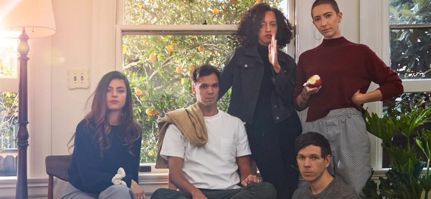 """Die US-Band Dirty Projectors. Mal wieder durchlüften ist die Devise ihrer neuen EP, sie heißt """"Windows Open""""."""
