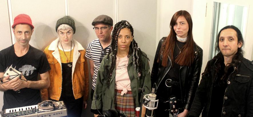Foto der Band Wargirl, die im März 2020 ein Session bei ByteFM spielte.