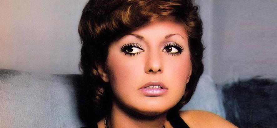 Foto der iranischen Disco-Queen Googoosh, die am 5. Mai 2020 70 Jahre alt wird.