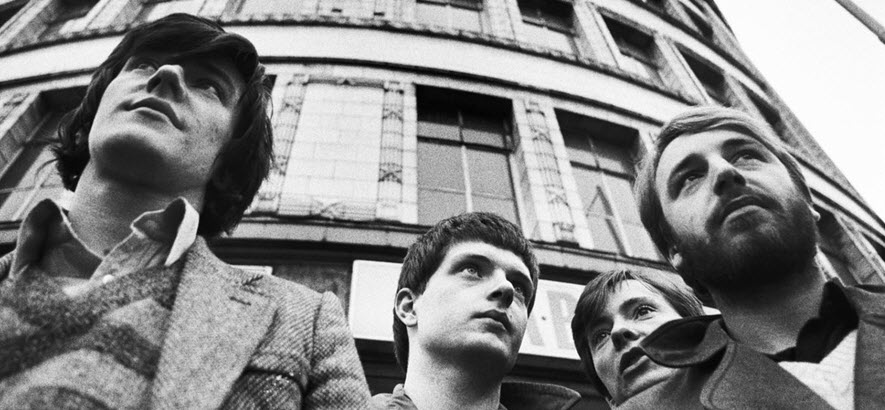 Foto der Band Joy Division