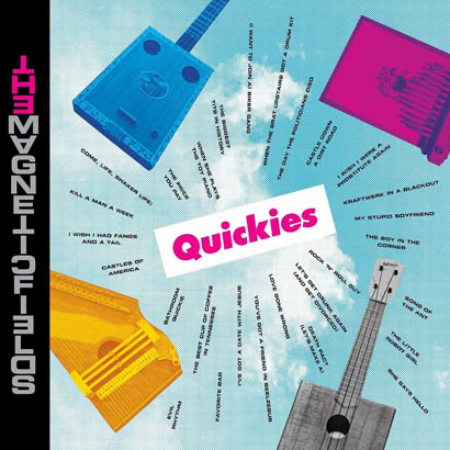 "Bild des Albumcovers ""Quickies"" von The Magnetic Fields"