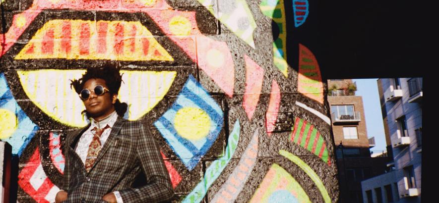 """Foto des britischen Sängers L.A. Salami. Bei seinem neuen Track """"The Cage"""" stellt sich die Frage: """"Ist das schon Rap?"""""""