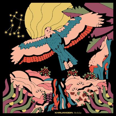 """Cover des Albums """"Mordechai"""" von Khruangbin"""