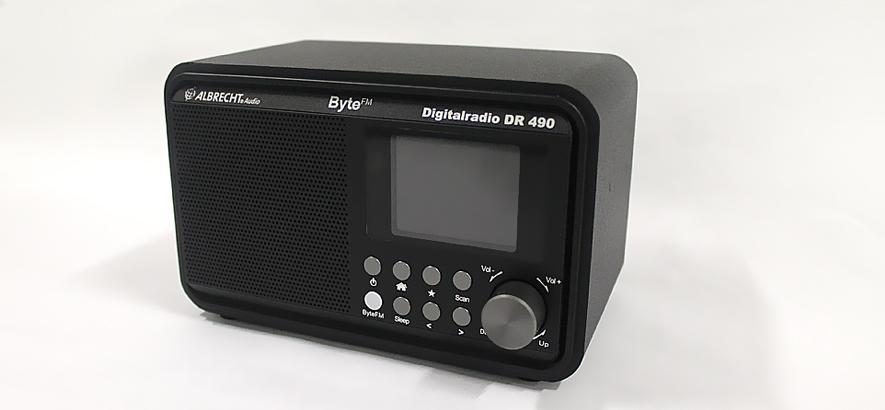 Das ByteFM Digitalradio von Albrecht