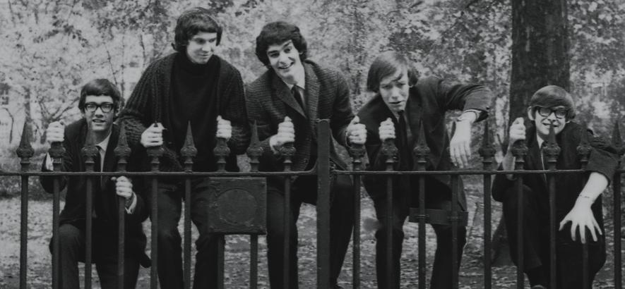"""Bild der britischen Band The Zombies, deren Song """"Care Of Cell 44"""" ein Liebesbrief in den Knast ist."""
