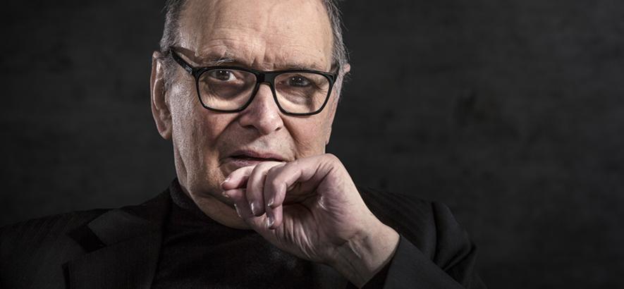 Bild des italienischen Filmmusik-Komponisten Ennio Morricone, der im Alter von 91 Jahren gestorben ist.