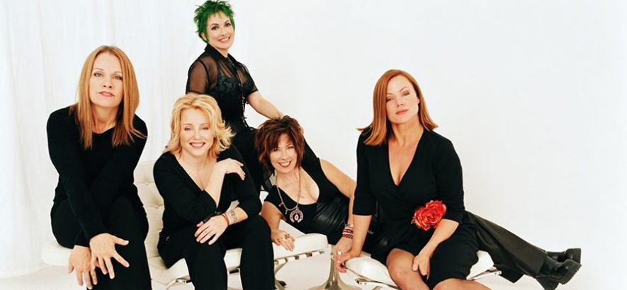 Foto der kalifornischen New-Wave-Band The Go-Go